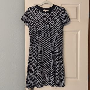 Michael Kors Black White Dress Size Medium
